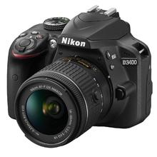 Nikon D3400 schwarz + AF-P 18-55mm VR + 70-300mm AF-P VR