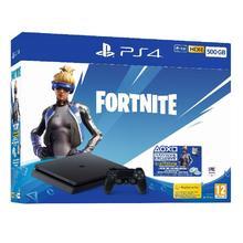 PlayStation 4 Slim, 500GB, Fortnite Edition, Black