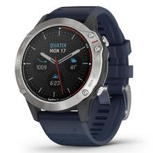 Garmin Quatix® 6 Gray with Captain Blue Band