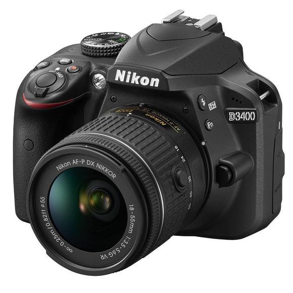 Nikon D3400 schwarz + AF-P 18-55mm VR + 70-300mm AF-P VR  - 1