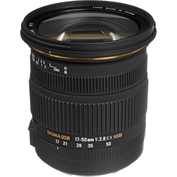 Sigma 17-50 mm f/2,8 EX DC OS HSM für Nikon  - 1