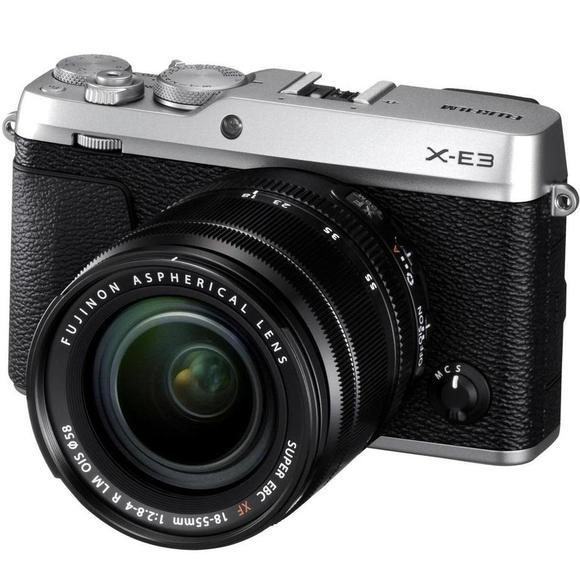 Fujifilm X-E3 + XF 18-55 Silber  - 1