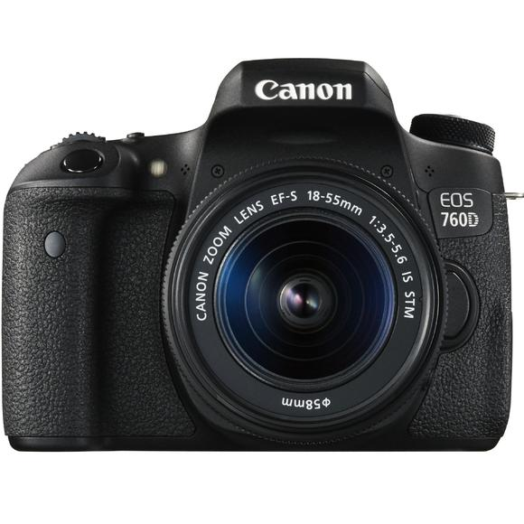 Canon EOS 760D + EF-S 18-55 IS STM  - 1