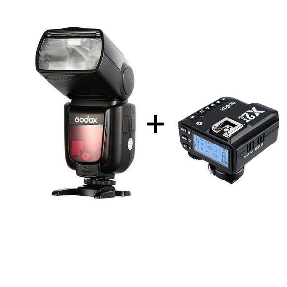 Godox TT685F Fujifilm + Godox X2T-F For Fujifilm  - 1