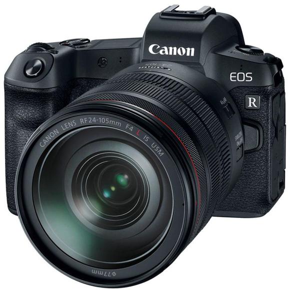 Canon EOS R+ 24-105 L USM F4.0 + EF-EOS R adaptér  - 1