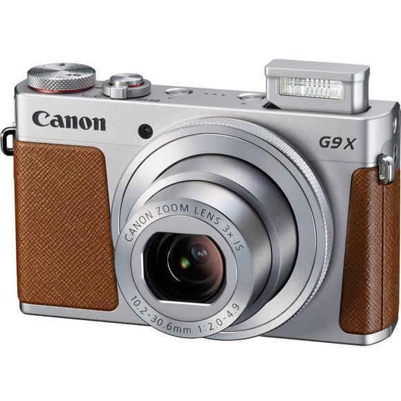 Canon PowerShot G9X, silber  - 1