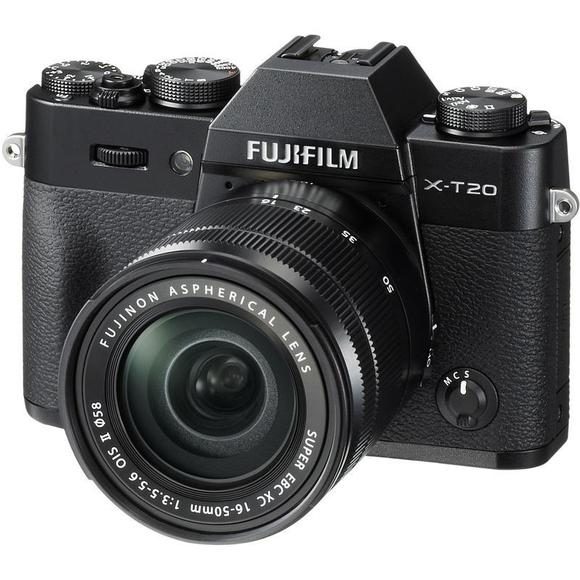 Fujifilm X-T20 schwarz+ 16-50 mm II  - 1