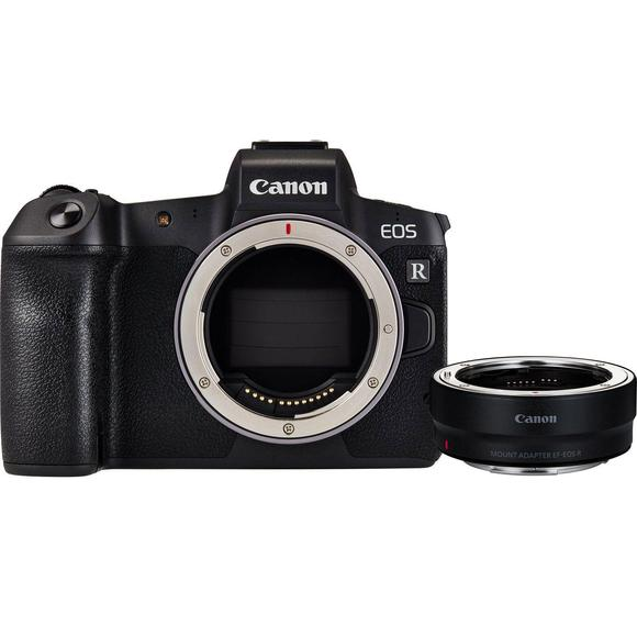Canon EOS R body + adapter EF-EOS R  - 1