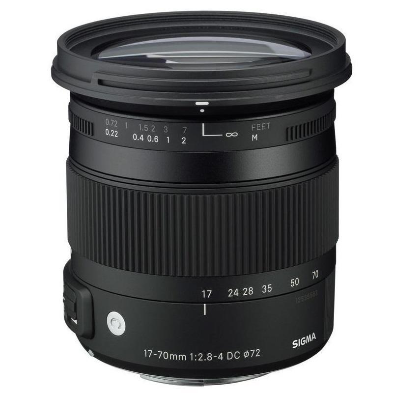 17-70mm f/2,8-4 DC Macro OS HSM Canon